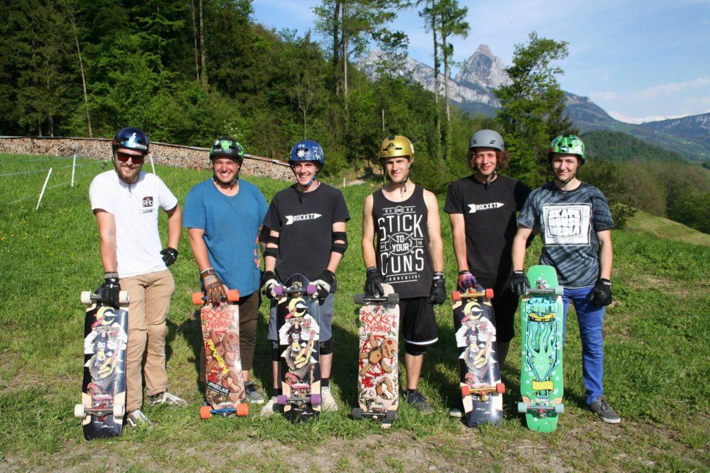 Team Riders ROCKET Longboards