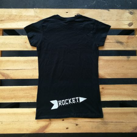 ROCKET follow run t-shirt women back
