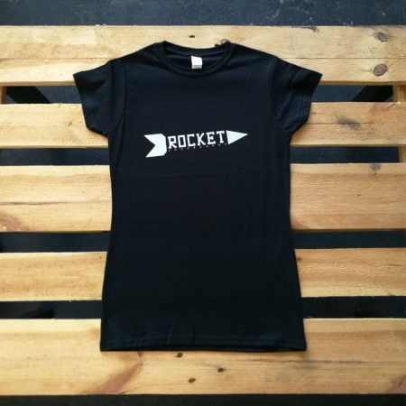 ROCKET Logo t-shirt women front